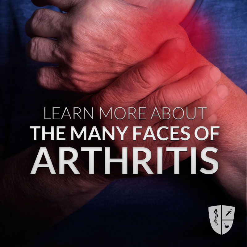 The Many Faces of Arthritis